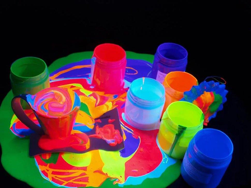 Светщиеся краски