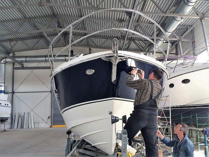 Ремонт лодок и катеров из стеклопластика